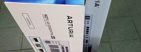 Надходження MIDI-клавіатур Arturia